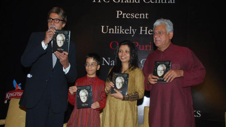 ഓംപുരിയുടെ ആത്മകഥ 'അൺലൈക് ലി ഹീറോ'